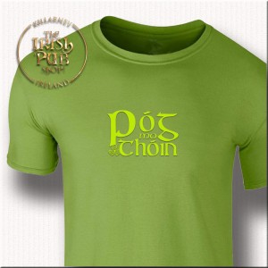 Irish Talk t-shirt - pistachio