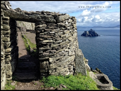 Entrance to the Monastery Skellig Michael